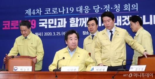 [사진]당정청 코로나19 대응 회의