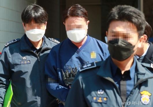[사진]라임 사태 첫 구속 기로에 선 신한금투 전 임원