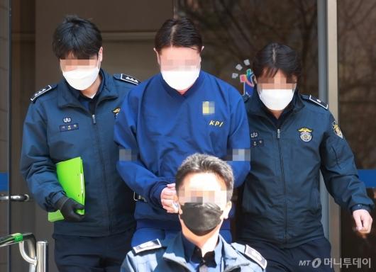 [사진]라임 사태 첫 구속 기로 선 신한금투 전 임원