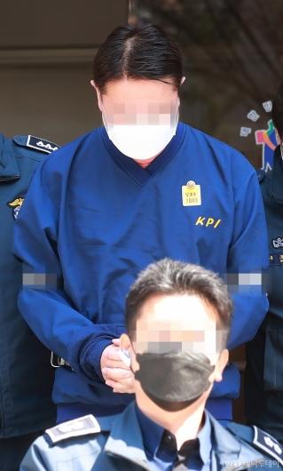 [사진]영장실질심사 받은 '라임 사태' 신한금투 전 임원