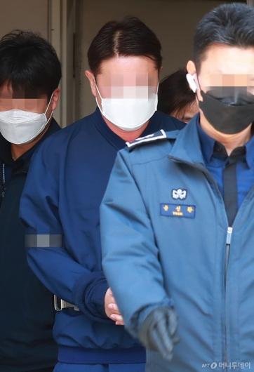 [사진]'라임 사태' 첫 구속 기로 선 신한금투 전 본부장