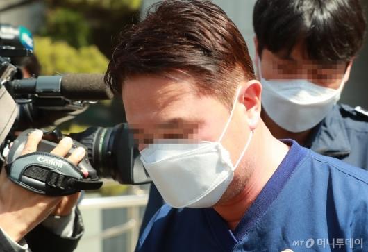 [사진]'라임 사태' 신한금투 전 임원 영장실질심사