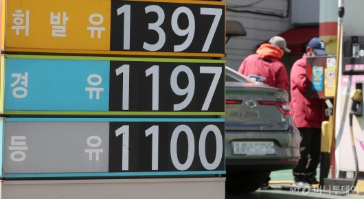 [사진]국내 휘발유 값 하락 '국제유가 여파'