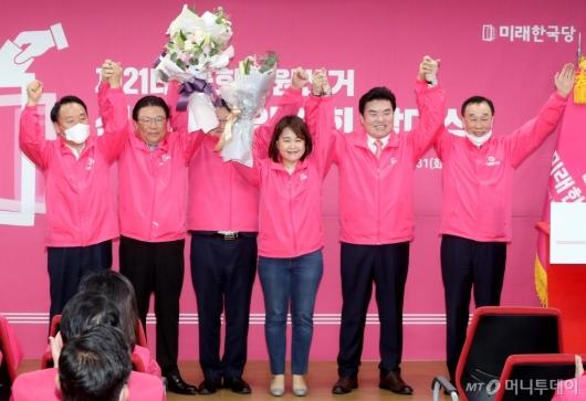 [사진]총선 승리 다짐하는 한국당