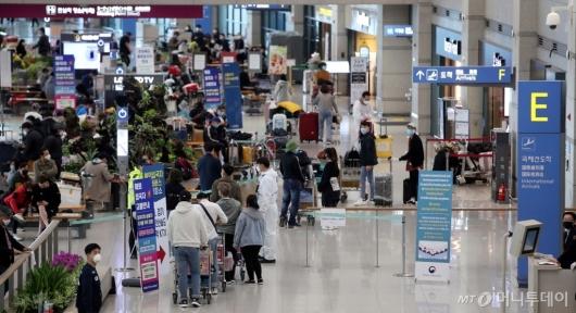 [사진]해외 입국자 특별 수송대책 실시
