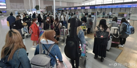[사진]일본, 내일부터 한국발 입국 전면 차단
