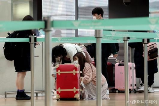 [사진]일본 정부, 3일부터 한국발 입국 전면 차단