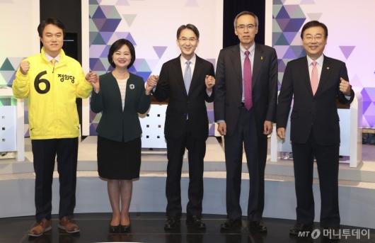 [사진]토론회 참석한 비례대표 후보자들