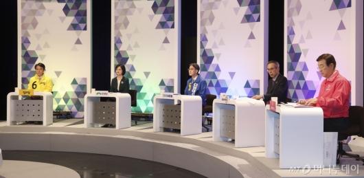[사진]제21대 비례대표 국회의원선거 후보 토론회