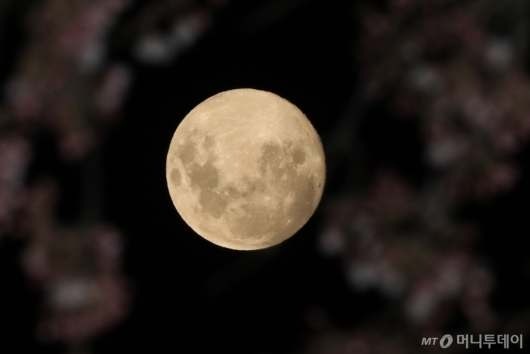 [사진]올해 뜨는 가장 큰 달 '슈퍼문'