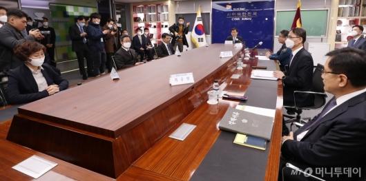 [사진]진영 행안부 장관, 디지털성범죄 특수본 방문