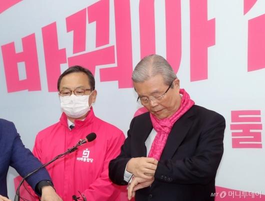 [사진]김종인, 결정의 시간