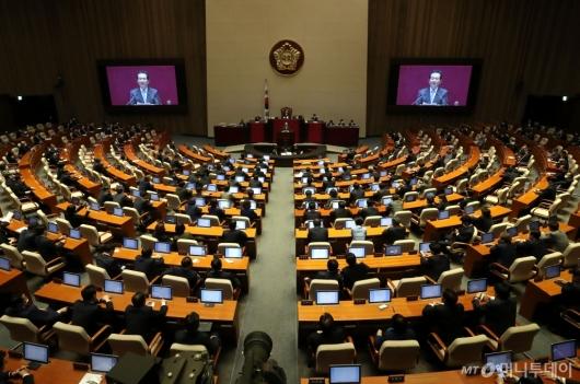 [사진]총선 후 첫 본회의
