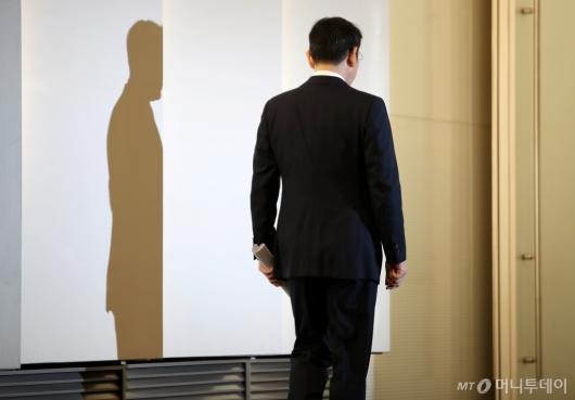 [사진]대국민 사과 마친 이재용 부회장