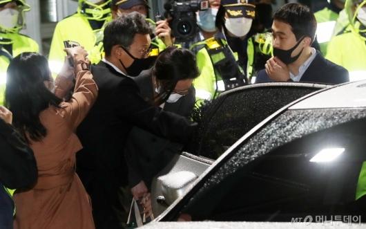 [사진]정경심 동양대 교수 석방