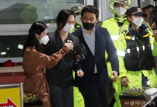 [사진]정경심 교수 200일만에 구치소 석방