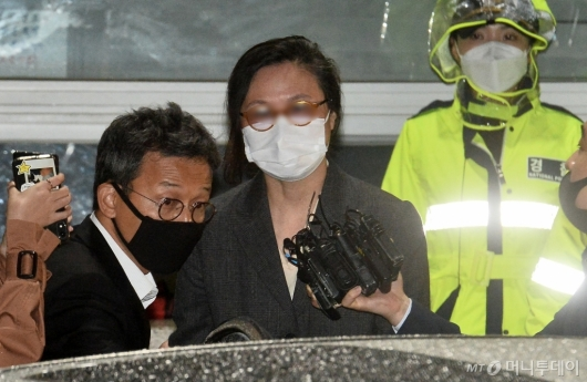 [사진]석방된 정경심 동양대 교수