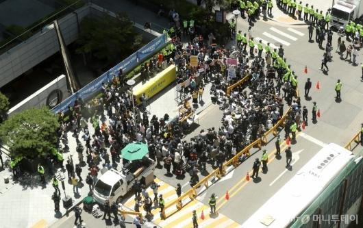 [사진]'후원금 논란' 속 수요집회