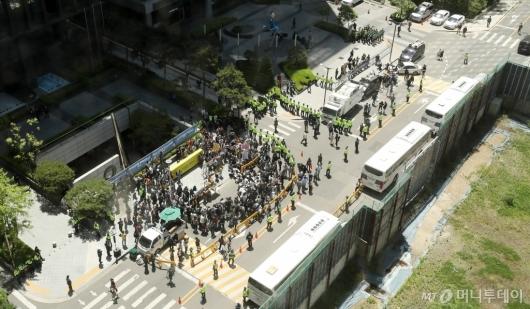 [사진]후원금 논란 속 수요집회