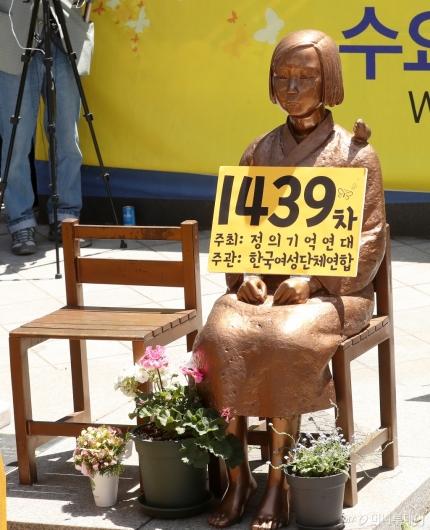 [사진]정의연 후원금 논란, 말 없는 소녀상