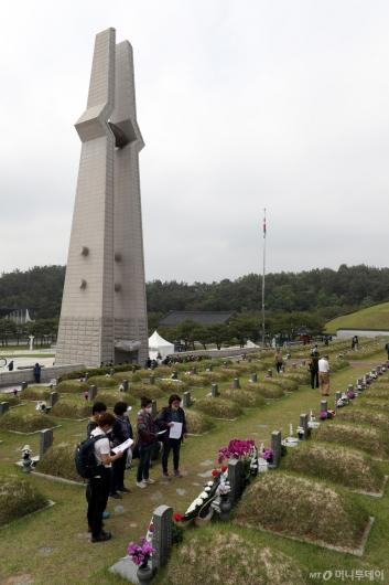 [사진]5·18민주묘지 참배