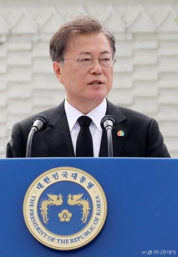 [사진]문재인 대통령, 5·18 기념식 참석