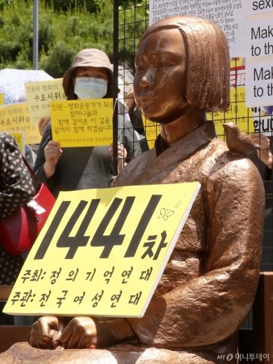 [사진]제1441차 수요집회