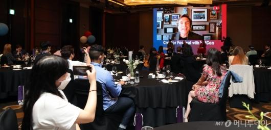 [사진]짐 로우더백, '2020 키플랫폼' 화상대담