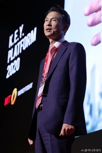 [사진]'2020 키플랫폼' 개회사하는 박종면 대표