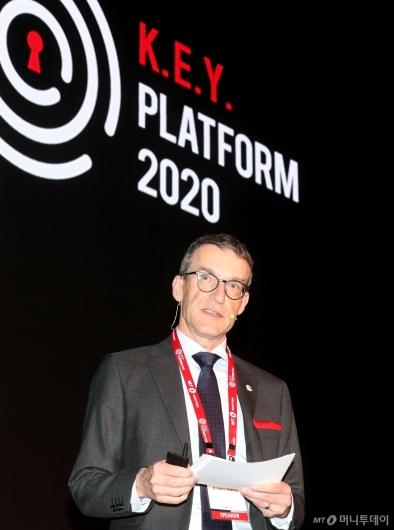 [사진]2020 키플랫폼에서 발표하는 안데르스 헥토르