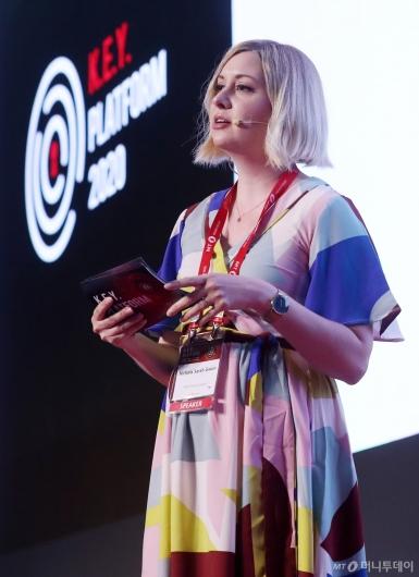 [사진]'2020 키플랫폼' 발표하는 니콜라 권