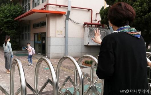 [사진]코로나 속 3차 등교, 걱정되는 마음
