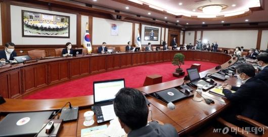 [사진]정부서울청사서 열린 임시 국무회의