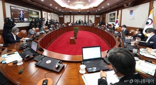 [사진]임시 국무회의