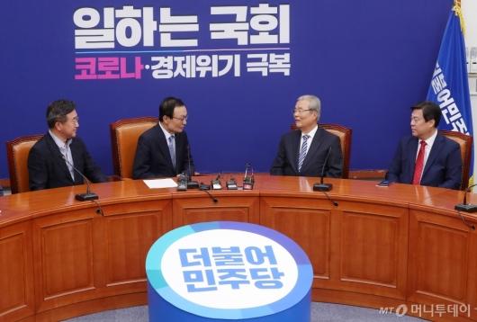 [사진]김종인, 이해찬 예방