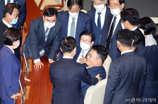 [사진]이야기하는 박병석