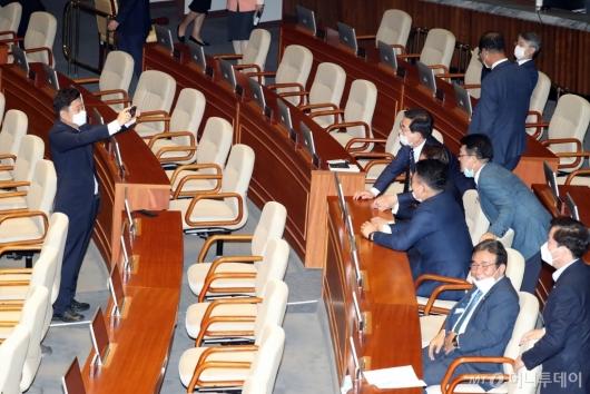 [사진]기념촬영하는 제21대 국회의원들