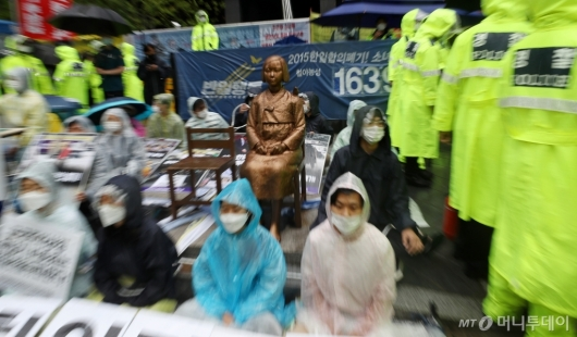 [사진]위기에 빠진 수요집회