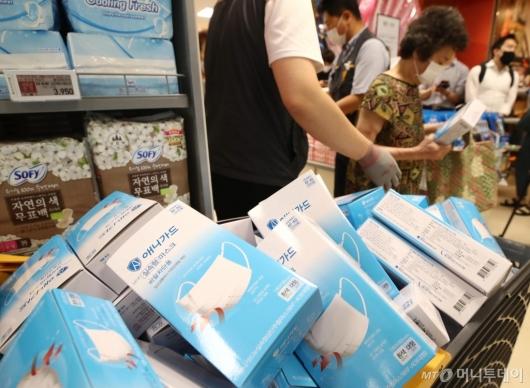 [사진]이마트, 비말 차단용 마스크 판매