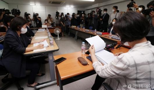 [사진]대원·영훈국제중 지정취소 관련 청문