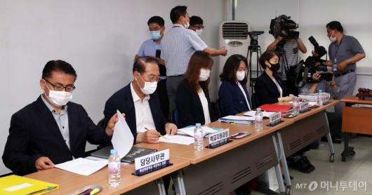 [사진]청문회 참석한 교육청 관계자들