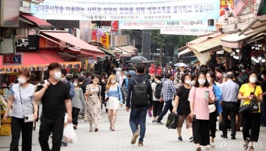[사진]동행세일 첫날, 북적이는 남대문시장