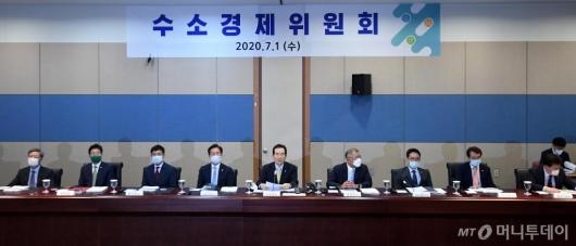 [사진]제1차 수소경제위원회