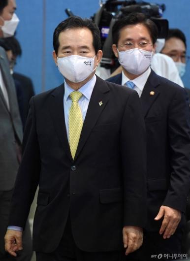 [사진]제1차 수소경제위원회 정세균 총리