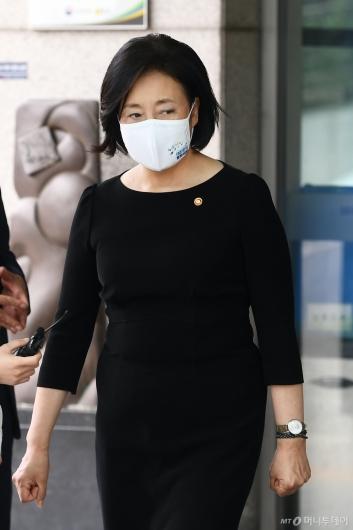 [사진]조문 마친 박영선 장관
