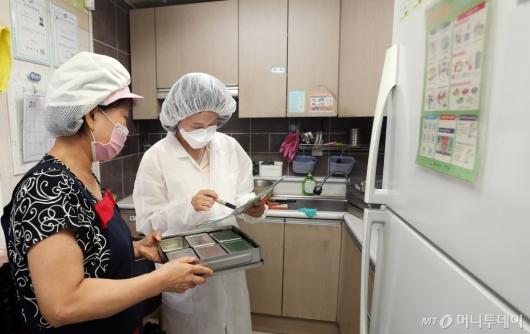 [사진]어린이집 급식시설 점검 나선 서울시