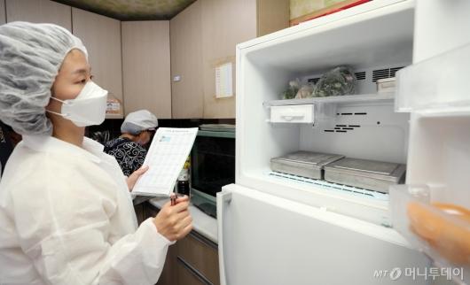 [사진]서울시, 어린이집 급식시설 위생점검