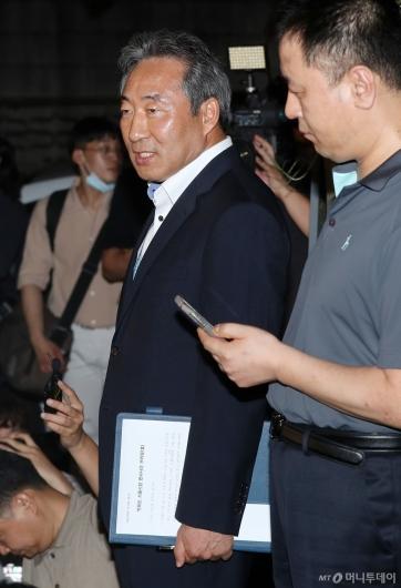 [사진]브리핑하는 최익수 경찰청 형사과장