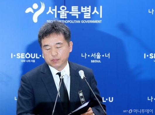 [사진]슬픔에 잠긴 서정협 서울시장 권한대행