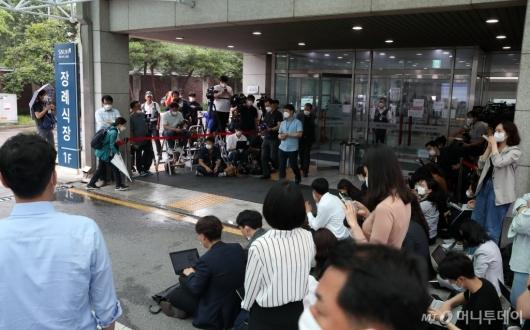 [사진]취재진 몰린 서울대병원
